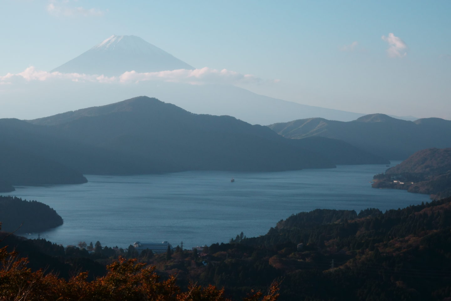 ภูเขา Obayama Observing Garden Mt. Fuji และ Ashinoko