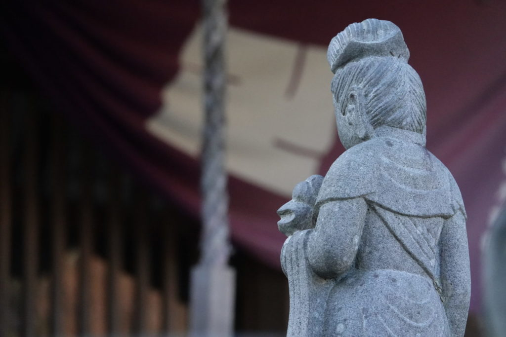 Jizo-do Kannon heykeli