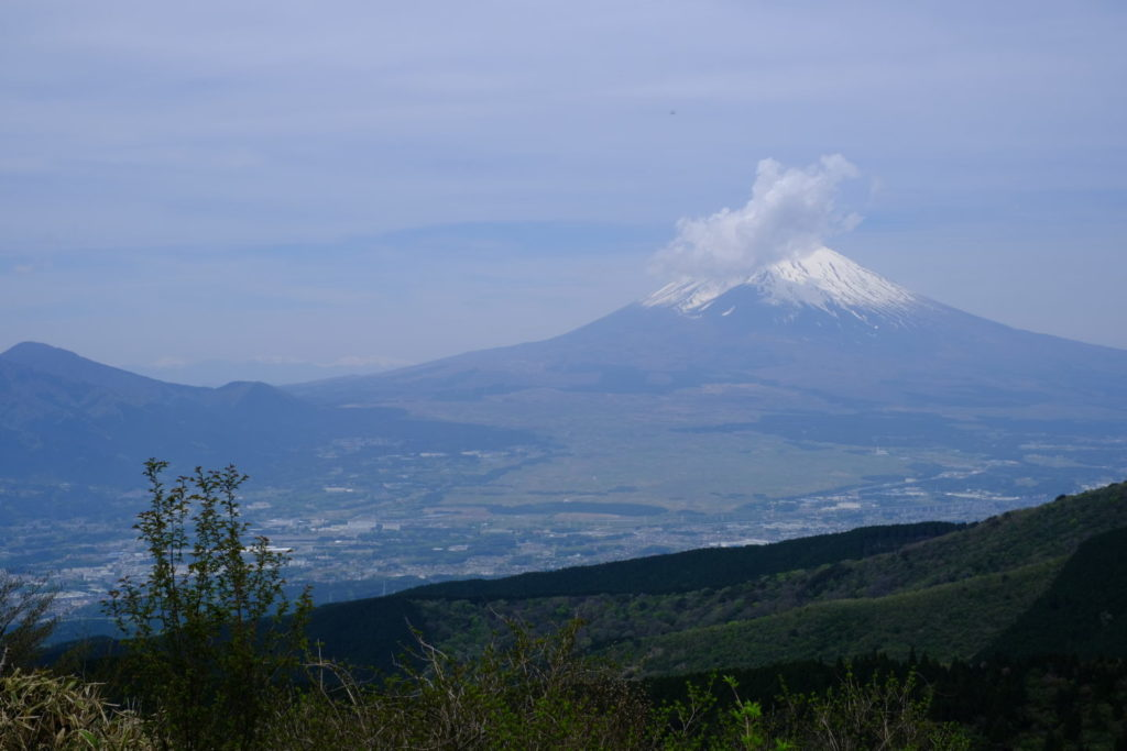 Mt. Fuji visto do Monte.